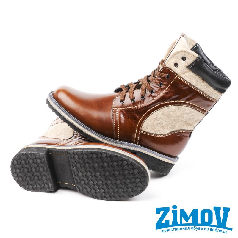 Ботинки Унисекс Рыжие