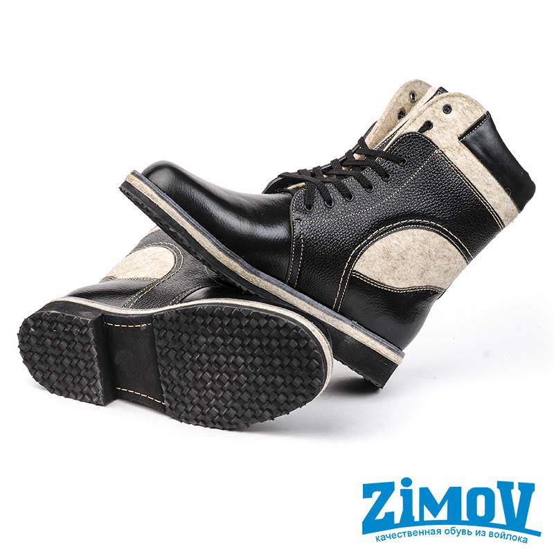 Ботинки Унисекс Черные